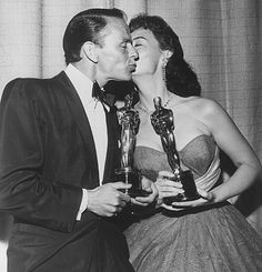 "Oscars: March 25, 1954:  March 25, 1954   Best picture: 'From Here to Eternity', Tele­vised, with Don­ald O'Con­nor in LA and Fre­dric March in NYC.  Act­or: Wil­li­am Hold­en, ""Stalag 17""  Act­ress: Audrey Hep­burn, ""Ro­man Hol­i­day"" Sup­port­ing act­or: Frank Sinatra, ""From Here to Etern­ity""  Sup­port­ing act­ress: Donna Reed, ""From Here to Etern­ity"""