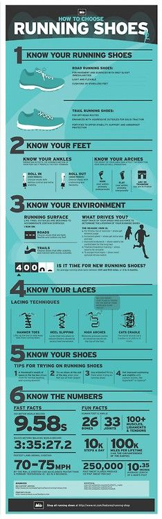 running shoe tips