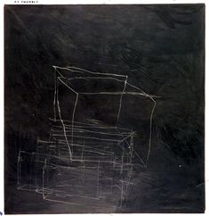 a painting by cy twombly Cy Twombly, Contemporary Abstract Art, Modern Art, Richard Diebenkorn, Art Plastique, White Art, Famous Artists, Abstract Expressionism, Abstract Oil