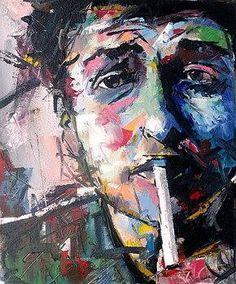 7- Bob Dylan Art