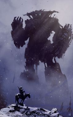Artwork: Shadow of the Colossus - Created by Nagy Norbert