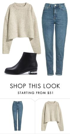 """""""Sem título #7719"""" by ana-sheeran-styles ❤ liked on Polyvore featuring Topshop"""