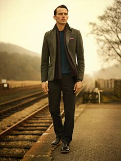 Ted Baker AW13 Lookbook - Take the Scenic Route