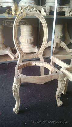 Sản xuất bàn ghế ăn tân cổ điển