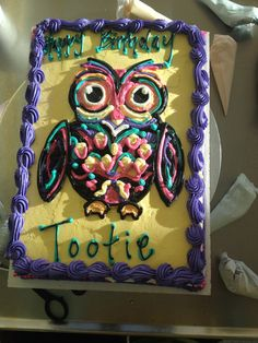 Love this owl #fancypastry