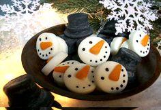 Country Primitive Handmade Snowman Wax Tarts (Powered by CubeCart)