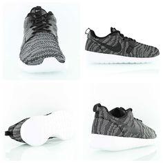 Nike Wmns Rosherun KJCRD (Knit Jacquard) black/white