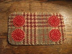 Peppermint Penny Rug #NaivePrimitive