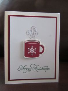 Super cute and easy Christmas card