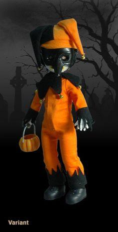 Living Dead Dolls - Series 18 - Jingles (orange and black variant)