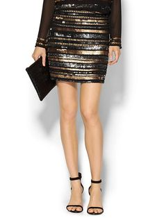 Wear this sparkly mini to all your holiday parties.