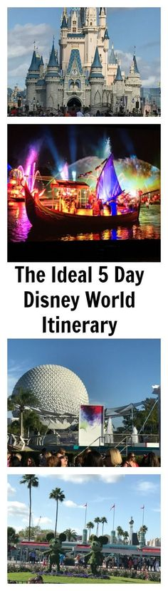 foolproof Disney World itinerary but we are sharing an ideal 5 Day Disney World Itinerary recommended by the Disney Experts at Disney Social Media Moms Celebration.