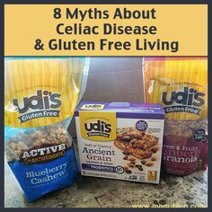 With Celiac disease on the rise, myths about the gluten-free lifestyle are also on the rise. Mom-Blog dispels the myths and share tips for living gluten-free