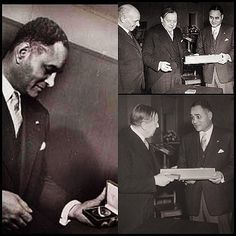 FEED | Websta - get1later On this Date (1950) For his peace mediation during the first Arab-Israeli war, American diplomat Ralph Joseph Bunche received the Nobel Peace Prize in Oslo, Norway. Dr Bunche was the first African American to win the prestigious award #photogrid @photogridorg #UCLA #Howard #JeffersonHighSchool #LosAngeles #BlackHistory #CivilRights
