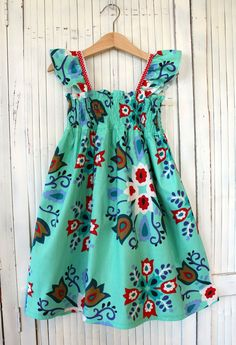 Girls Size 6 Handmade Meadow Dress - Ready to Ship by Two Pink Flamingos on Etsy, $45.00 AUD