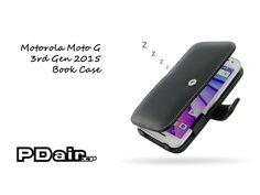 PDair Motorola Moto G 3rd Gen 2015 Book Case