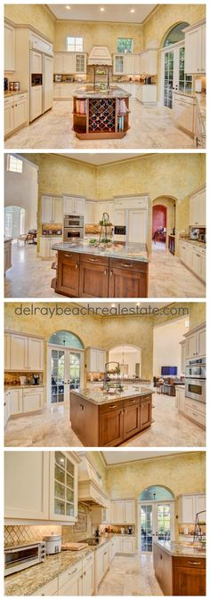Beautiful Kitchen Decor | Luxury Home Designs 16012 D Alene Drive, Delray Beach, FL 33446 | If you're interested in this home for sale in Mizner Country Club CLICK THE PIN or call Champagne & Parisi Real Estate at 561-279-6100