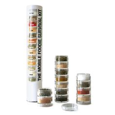 MOBILE FOODIE SURVIVAL KIT | Travel Spice Kit, Organic Spices | UncommonGoods