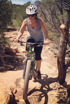 Make cycling an outdoor adventure: beginning mountain biker tips. #wwgh