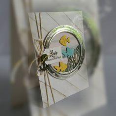Porthole, fish, anchor, seaweed - Lisa Horton
