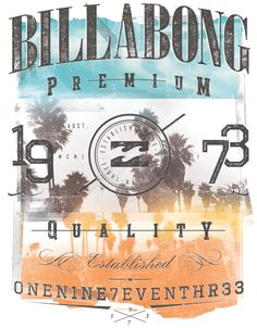 Various Work for Billabong by Nelson Nokela #beach #surf