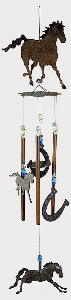 Sunset Vista Designs Wind Chime - Horse & Horseshoes   Bass Pro Shops: The Best Hunting, Fishing, Camping & Outdoor Gear