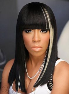 #WigsBuy - #WigsBuy High Quality Medium Straight Capless Synthetic Hair Wig 16 Inches - AdoreWe.com