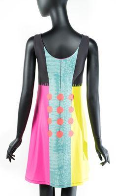 CROCO no.260 - Dress | Volt Design Volt Design, Crinkles, Ready To Wear, Summer Dresses, Stylish, Fabric, How To Wear, Fashion, Tejido