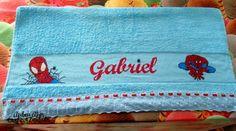 Toalha Ponto Cruz Banho Gabriel