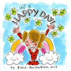 Happy Day blond Amsterdam