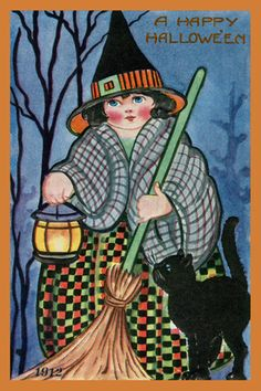 Olde America Antiques | Quilt Blocks | National Parks | Bozeman Montana : Halloween - A Happy Halloween 16a