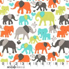 Pink Elephant Fabric by the Yard, Michael Miller Fabric Orchid Elephant Walk, Quilting Fabric, Pink Fabric Cotton, Girl Nursery Fabric Elephant Walk, Pink Elephant, Elephant Print, Sewing Projects, Craft Projects, Sewing Tips, Knitting Projects, Sewing Ideas, Project Ideas