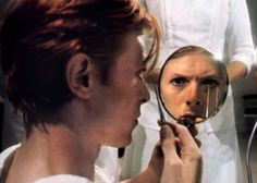 David Bowie in The Man Who Fell to Earth directed by Nicolas Roeg, 1976