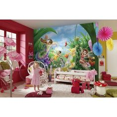1000 images about d co disney fairies on pinterest fee for Decoration chambre la fee clochette