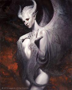 The Illustration of David Palumbo, Ivory wings