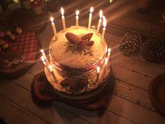 Woodland birthdayparty – birthday cake with candles - Birthday Cake Blue Ideen 12th Birthday, Birthday Parties, Birthday Cake With Candles, Food Drawing, Woodland, Party, Fun, Candles, Ideas