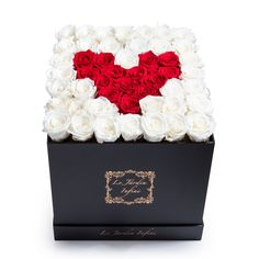 Red And White Roses, Red Roses, Rose Delivery, Custom Made Gift, Forever Rose, Preserved Roses, Rose Arrangements, Chocolate Bouquet, How To Preserve Flowers
