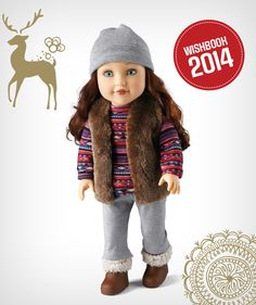 """Going away for the holidays? You should bring along Newberry's Travel Girl """"Avery"""" Fashion Doll"""