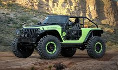 Jeep Unveils Seven Concept Vehicles for Annual Easter Jeep Safari