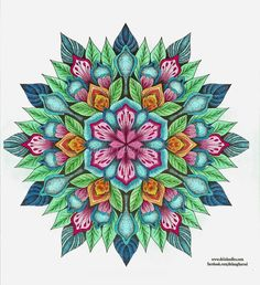 Coloured By Karen Oderkirk.