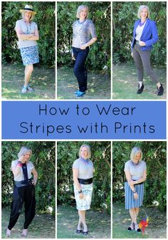 How to Mix Stripes with Prints - Inside Out Style