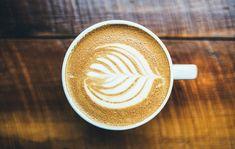 Der Kaffee. Der Kaffee in der Tasse.