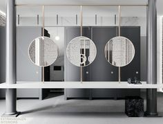 Modern And Cozy Office Interior Design Ideas To Makes You Feel Comfortable - Page 87 of 99 - Chessy Decor Office Interior Design, Luxury Interior Design, Home Office Decor, Office Interiors, Home Decor, Office Bathroom, Bathroom Toilets, Bathroom Interior, Washroom