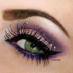 Long Lashes~Purple