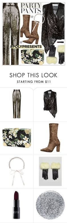 """#PolyPresents: Fancy Pants"" by teoecar ❤ liked on Polyvore featuring Alice + Olivia, Victoria Beckham, Urbancode, Smith & Cult, contestentry and polyPresents"