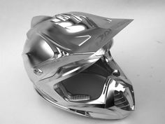 The grey collection: Motorcycle helmet from Daishin: milled on a DMU 60 P duoBLOCK from DMG MORI