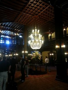 Interior of the Hotel Del Coronado