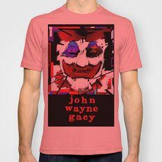 John Wayne Gacy T-shirt by brett66 - $18.00