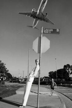 Self-Service    Model: Anja Rubik    Photographer: Glen Luchford