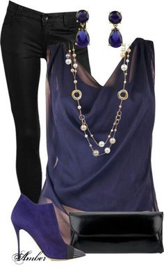 Cute shirt but would have to wear a tank underneath it. I even like the necklace!